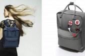Skandynawski stylowy plecak
