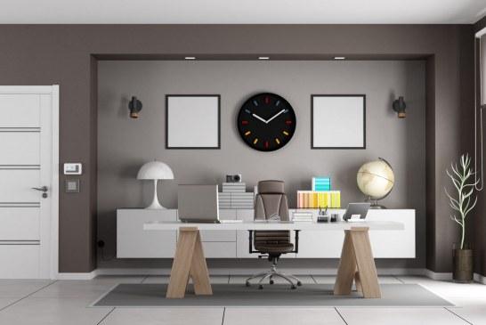 Nowoczesne białe meble do biura